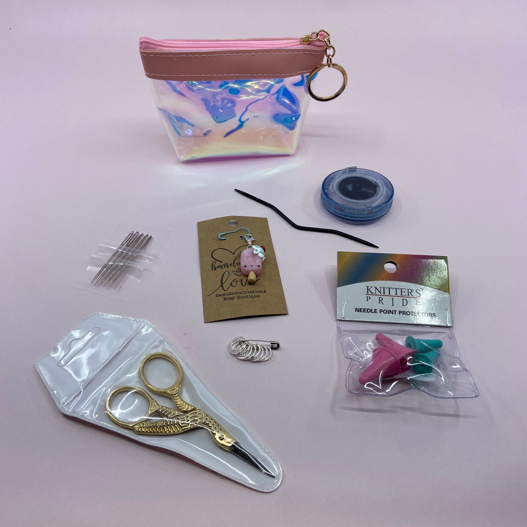 Travel Notion Kits- Colors and charms will vary