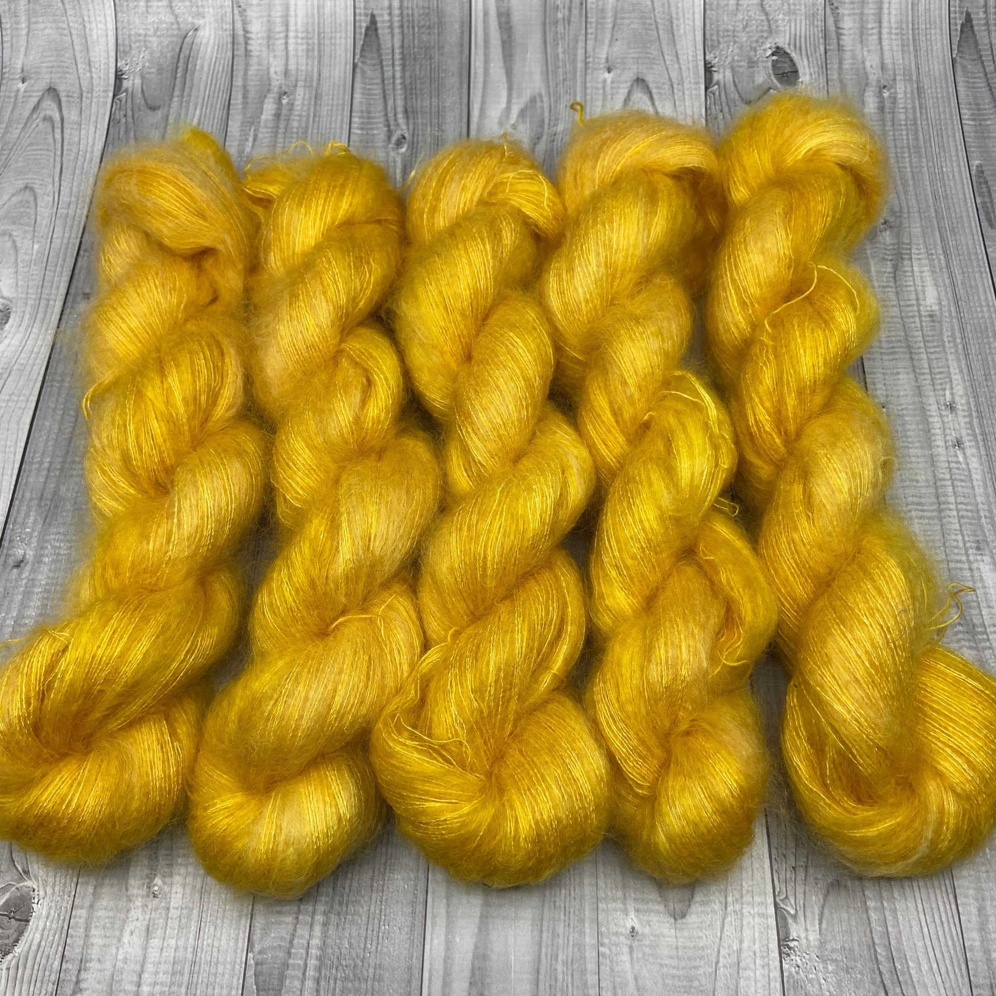 Abigail Mohair Lace - Buttered Dreams