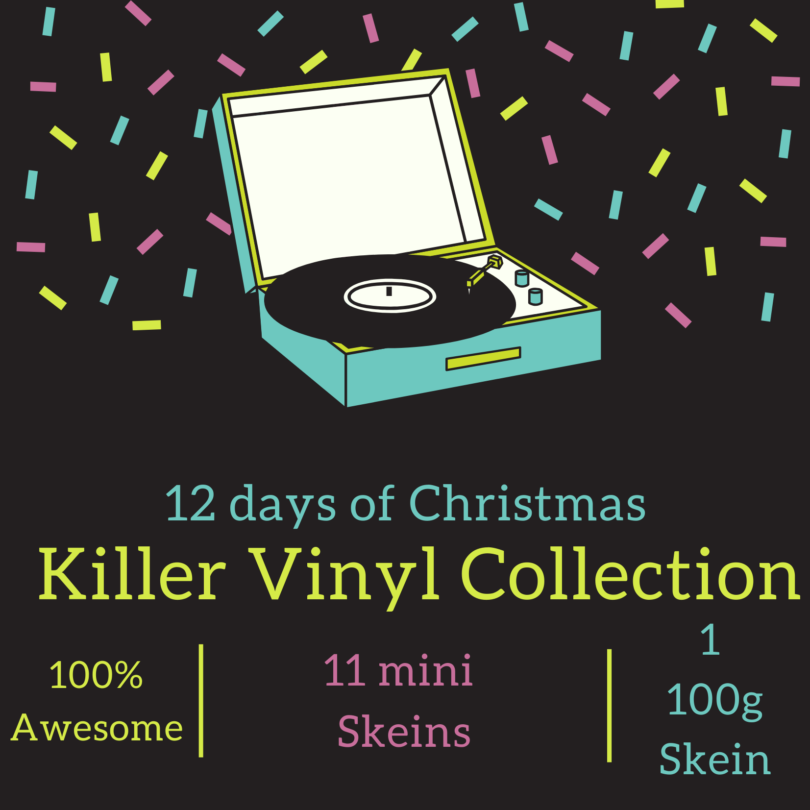 12 Days of Christmas, Killer Vinyl Collection