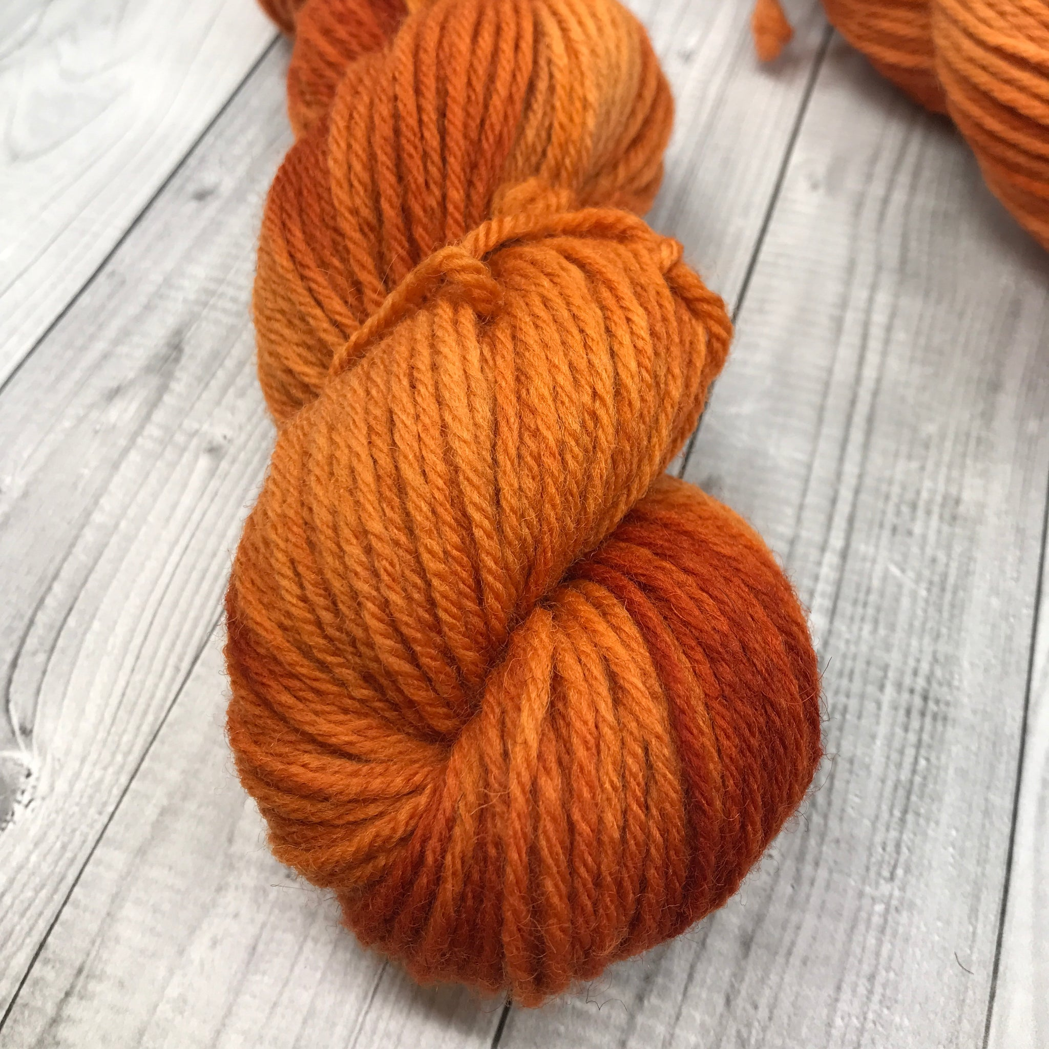 Hunter Highland DK - 50g Mini Skein- Pumpkin Please