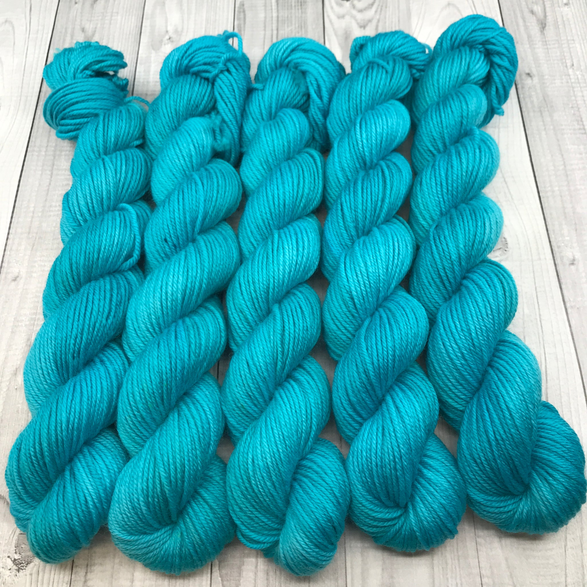 Trevor Morgan DK - Mini Skein- Tempting Teal