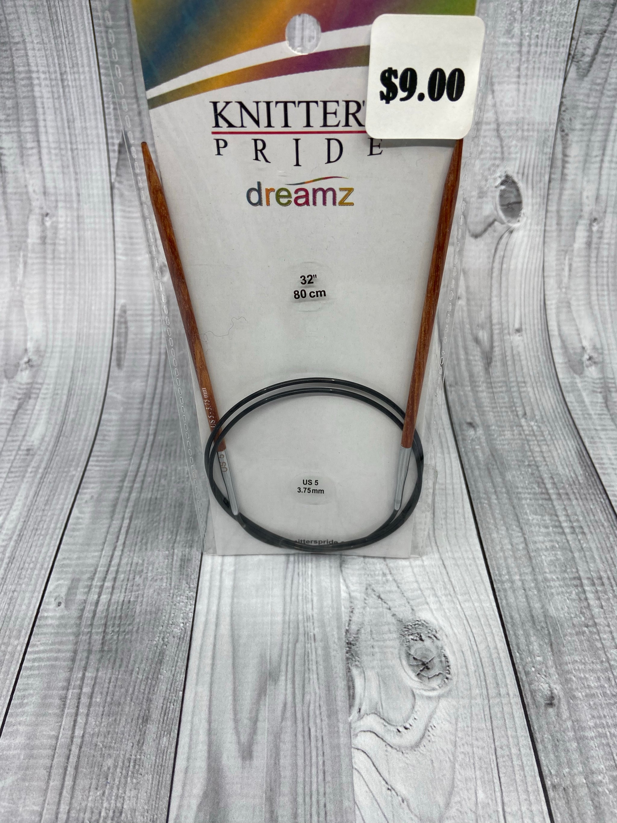 Knitters Pride Dreamz circular knitting needles Size 5 (3.75mm)