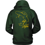 Outline Hoodie (Yellow Print)