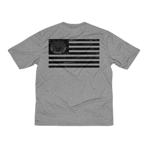 20.1 WEATHERED FLAG Heather Dri-Fit Tee