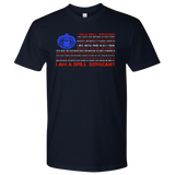 I Am A Drill Sergeant Flag Tee
