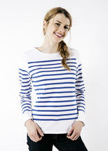Load image into Gallery viewer, Naval Femme Striped Shirt