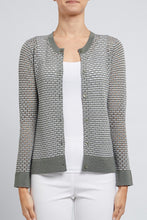 Load image into Gallery viewer, Pointelle Crepe Cardi