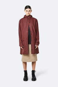 Long Jacket-Maroon