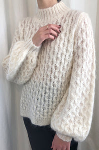 Mimi Jumper-Textured Ivory