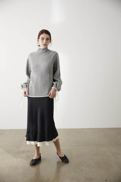Maxwell Knit-Grey Marle