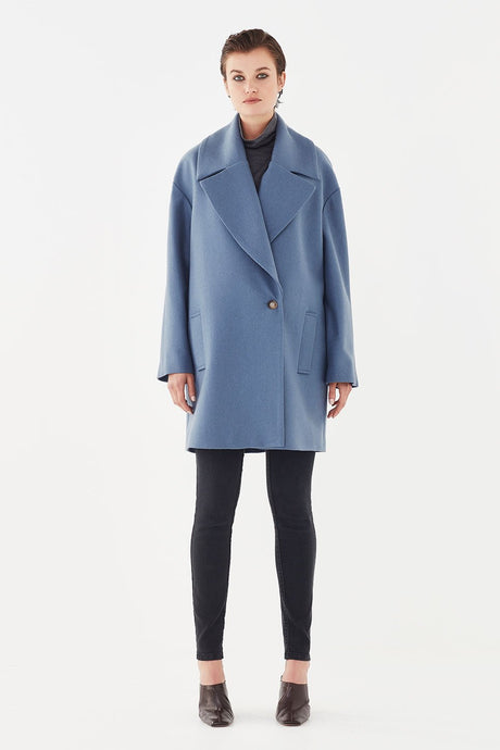 Finn Coat-Cornflower