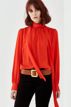 Load image into Gallery viewer, Bowie Blouse-Persimmon