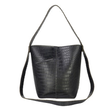 Load image into Gallery viewer, Black Slouch Bag