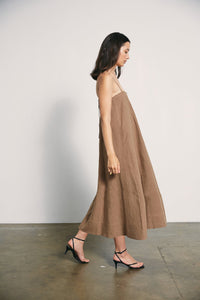 Jones Dress-Taupe
