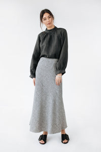 Chloe Skirt-Grey