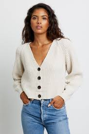 Josie Cardigan-Heather Taupe