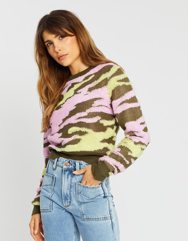 Undercover Knit-Flamingo Military