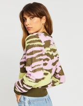 Load image into Gallery viewer, Undercover Knit-Flamingo Military