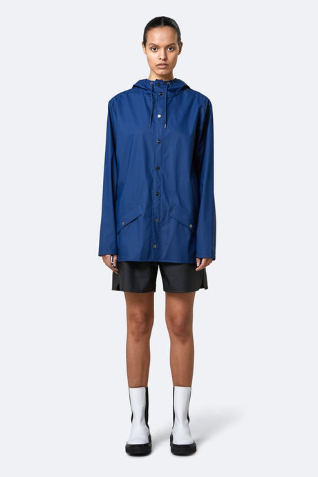 Jacket-Rains Klein Blue