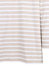 Load image into Gallery viewer, Galathee II Nautical striped top Naturel & Neige
