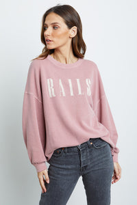 Signature Sweatshirt-Vintage Rose