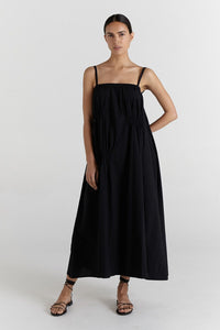 Teddy Dress-Black