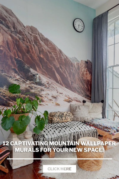 12 Captivating Mountain Wallpaper Murals for your new Space!
