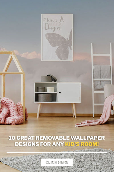 10 Great Removable Wallpaper Designs for any kid's room!