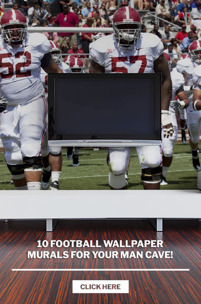 10 Football Wallpaper Murals for your man cave!