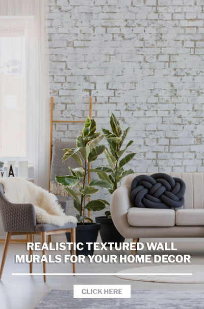 Realistic Textured Wall Murals for your Home Decor