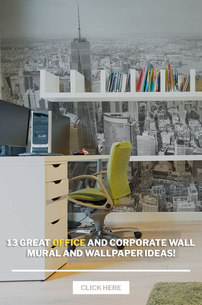 13 great office and corporate wall mural and wallpaper ideas!