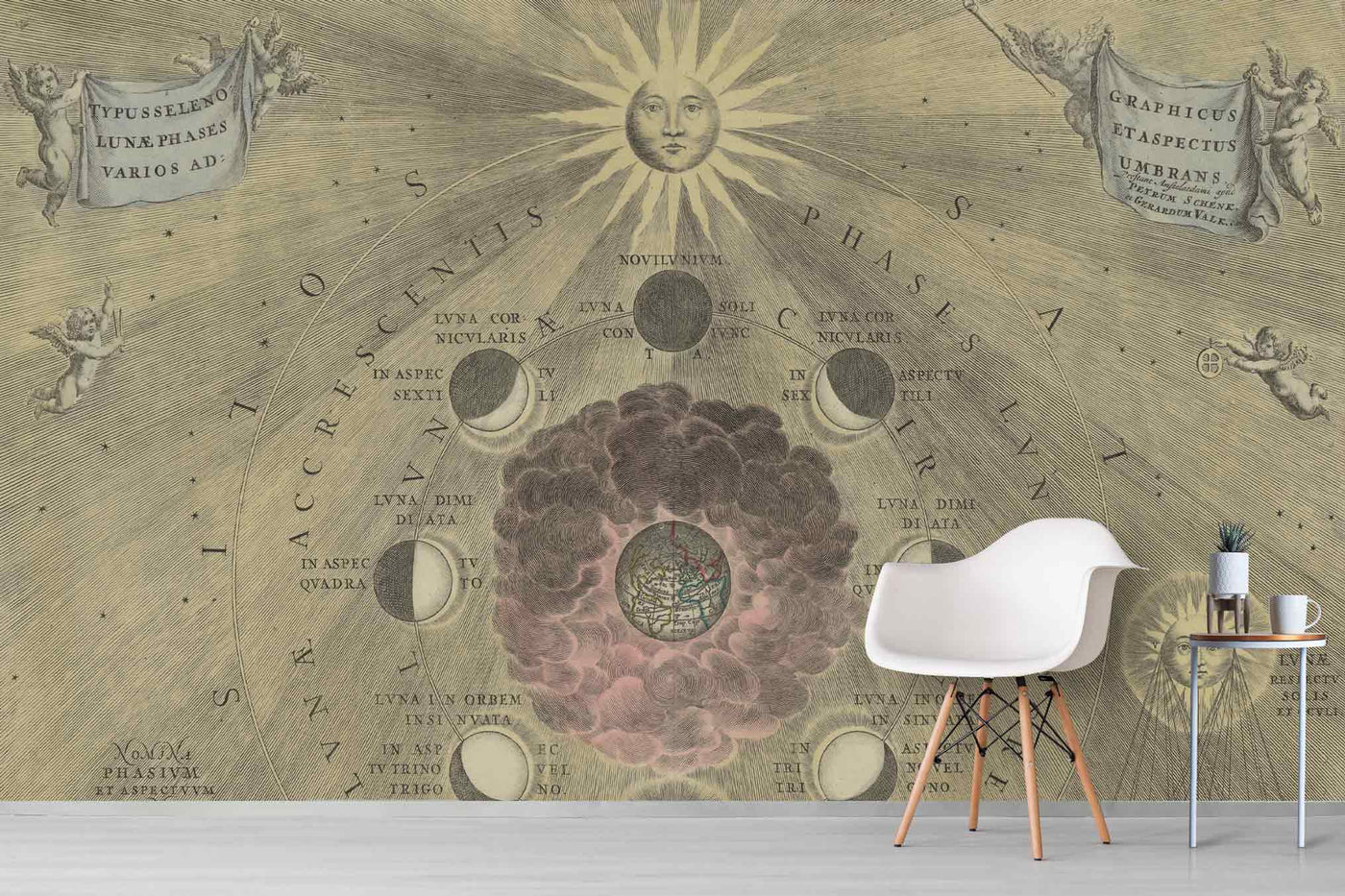 maps wallpaper murals.