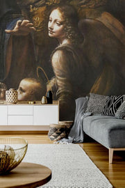 1485 Vintage Da Vinci Painting Wall Mural-painting-Eazywallz