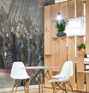 1856 Arctic Ship Scene Painting Wall Mural-Cityscapes-Eazywallz