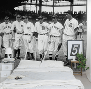 1937 Baseball All-Stars Wall Mural-Sports-Eazywallz