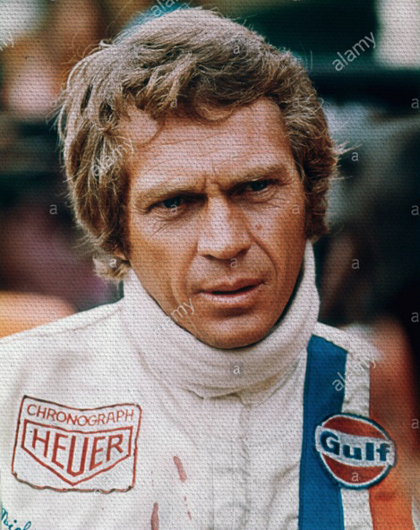 Iconic Steve McQueen Wallpaper Wall Mural