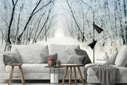Winter Alley Wallpaper Mural