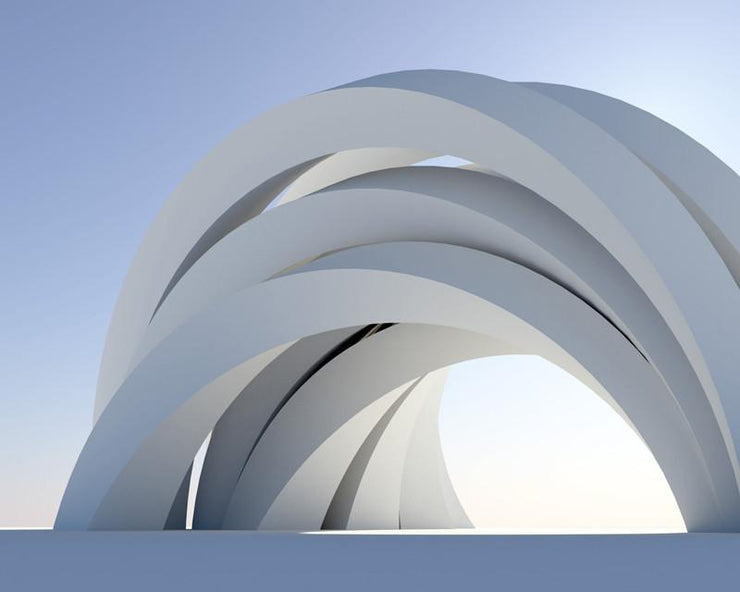 Abstract arch Mural-Abstract,Buildings & Landmarks,Category Details-Eazywallz
