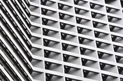 Abstract Architecture Mural-Abstract,Black & White,Buildings & Landmarks,Urban-Eazywallz