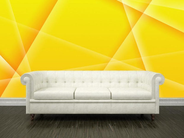 Abstract background of yellow color Mural-Abstract,Modern Graphics-Eazywallz