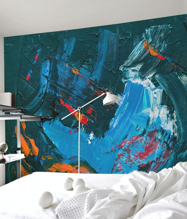 Abstract Canvas Painting Mural-Urban-Eazywallz