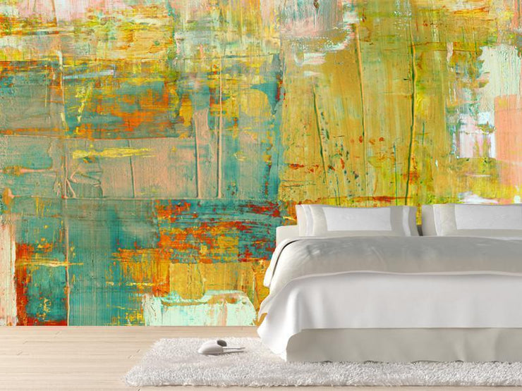 Abstract Composition Mural-Abstract-Eazywallz