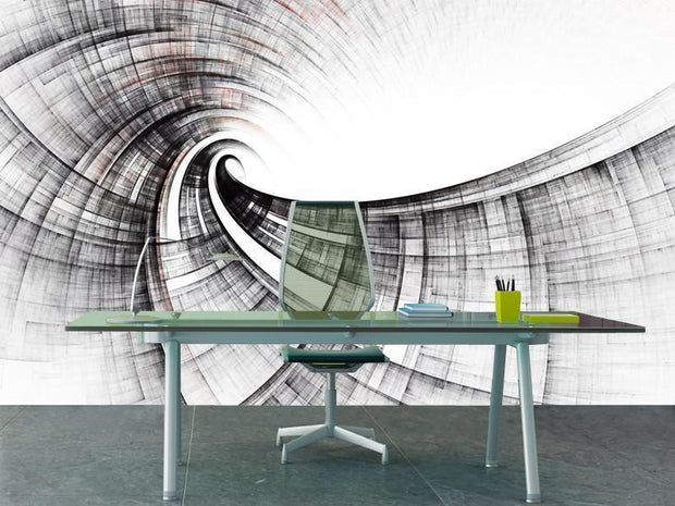 Abstract design Mural-Abstract-Eazywallz