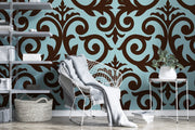 Antique Ornament Wallpaper Mural