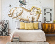 Aries Wall Mural-astrology-Eazywallz