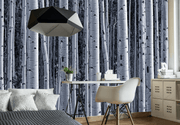 Aspen Birch Forest Wall Mural-Landscapes & Nature,Patterns,Textures,Best Rated Murals-Eazywallz