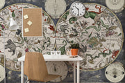 Astrology Planisphere Wall Mural-astrology-Eazywallz