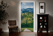 Austrian Mountain Path Door Mural-Landscapes & Nature-Eazywallz