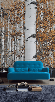 Autumn Forest Wall Mural-Landscapes & Nature-Eazywallz