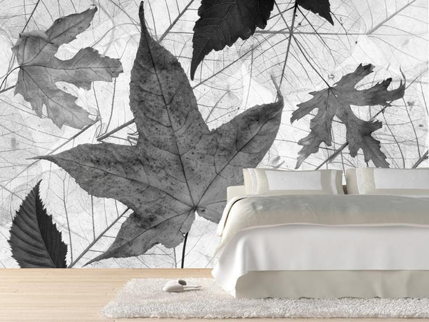 Autumn leaves Wall Mural-Macro,Textures-Eazywallz